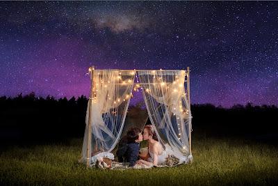 浪漫星空銀河婚紗