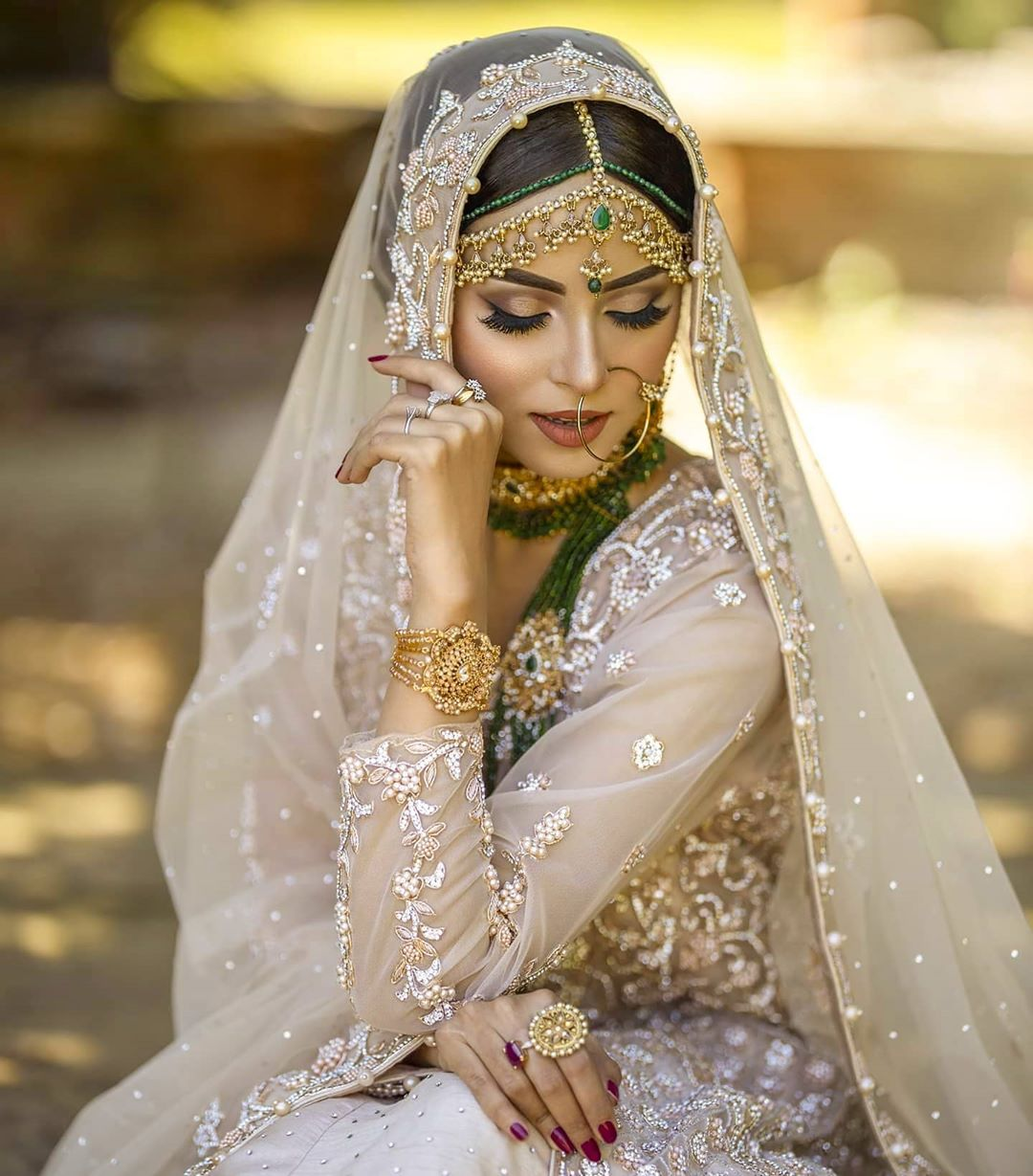 Nimra Khan New Photoshoot is perfect Bridal Inspiration