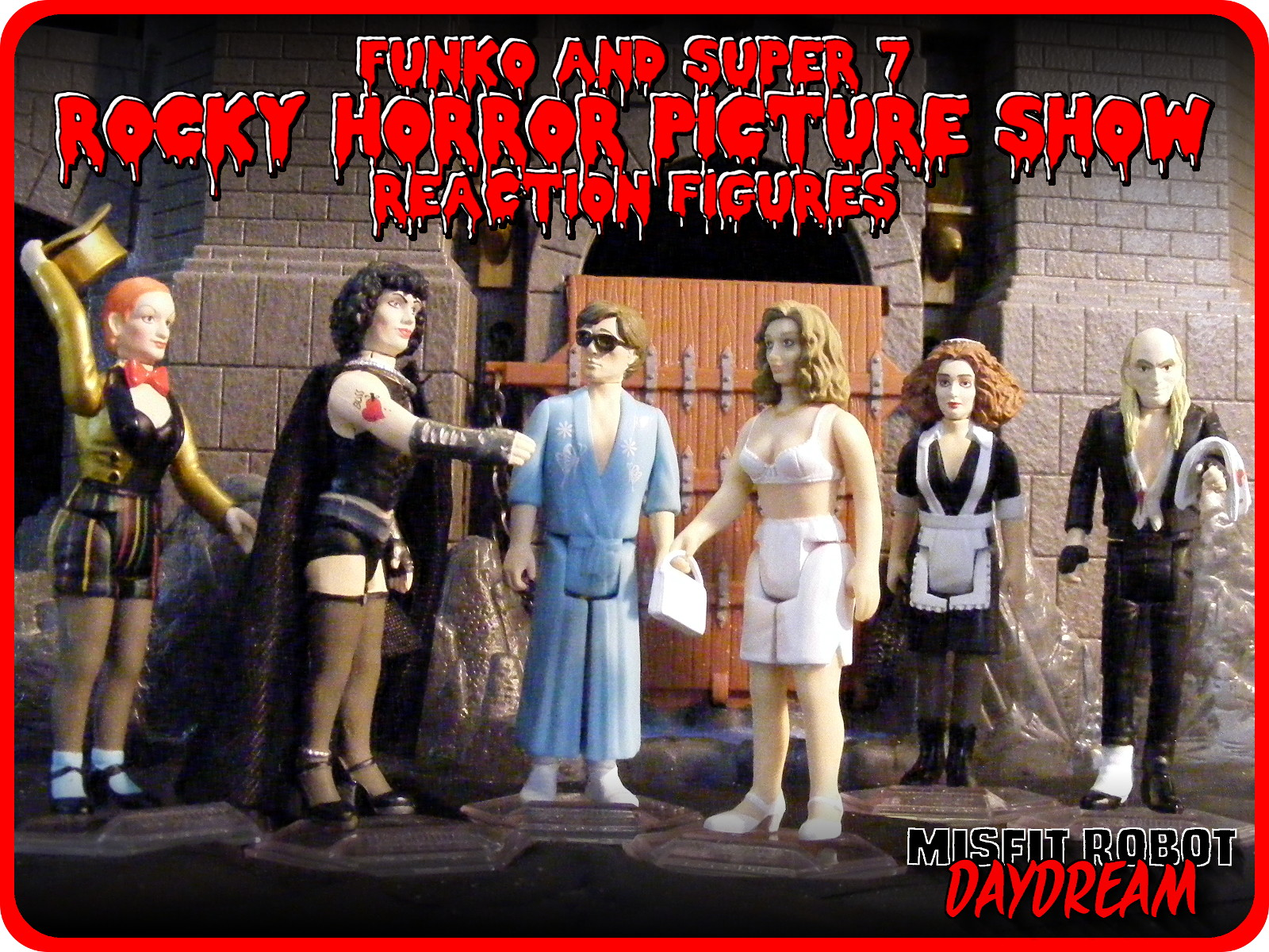 Misfit Robot Daydream Rocky Horror Picture Show Reaction Retro