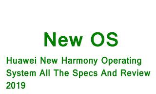 Huawei Harmony OS Details