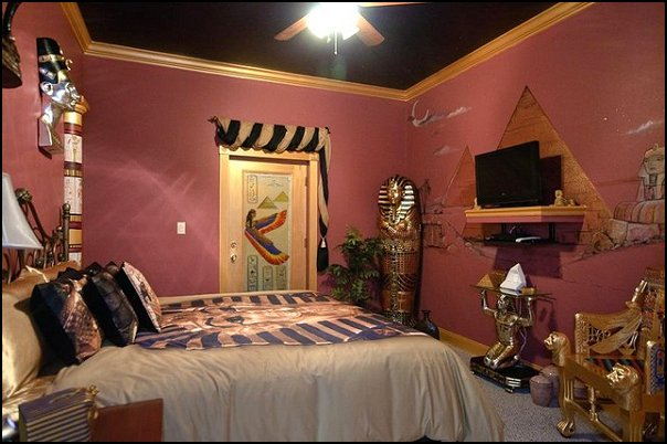 Decorating theme bedrooms maries manor egyptian theme - Wall decoration ideas for bedrooms ...