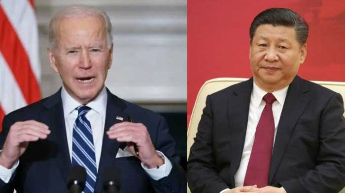 Joe Biden gave a strong message to China, saying America will face challenges directly