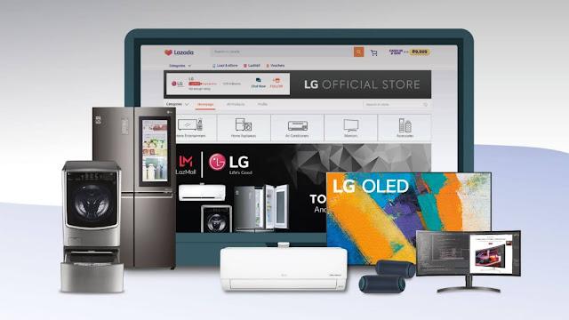 LG Flagship Store Lazada