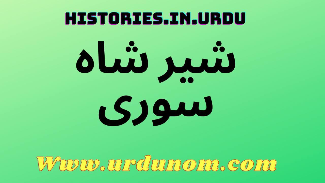 sher shah suri history in urdu | شیر شاہ سوری تاریخ اردو میں