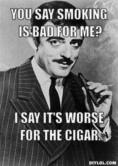Adams Family - 10 Cigar Jokes Only Cigar Lovers Will Get