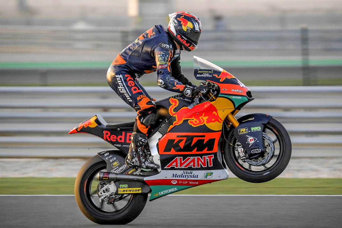 Moto2 : Tetsuta Nagashima juara seri perdana Moto2 2020 di sirkuit Doha Qatar