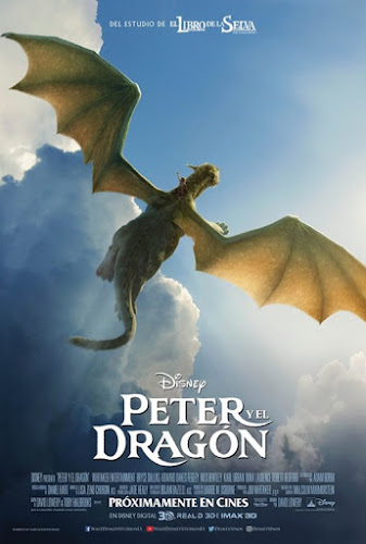 Pete's Dragon (BRRip 1080p Dual Latino / Ingles) (2016)