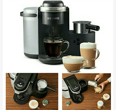 Keurig Coffee Maker - Home K-Cup Brewing Machine