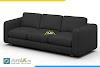 AmiA 20222, mẫu ghế sofa văng da đẹp cho phòng khách nhỏ