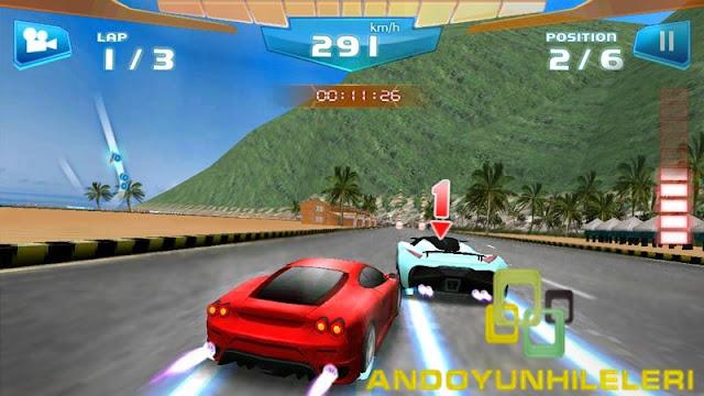 Fast Racing 3D V1.8 Para Hileli