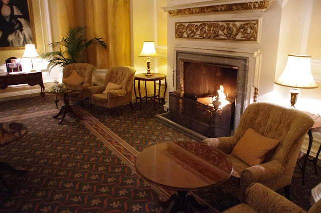 The Grand Hotel Eastbourne Palm Court Fire Place