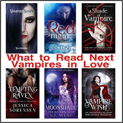 If you are looking to be romanced by a Vampire, check out these romantic paranormal books.  There's a little bit of bite, a little bit of adventure, and a lot of romance between these fun reads.
