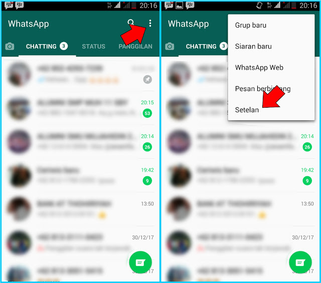 Cara Mengganti Background Chat WhatsApp