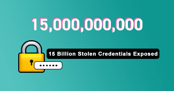 15 Billion Stolen Credentials