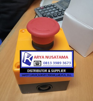 Jual Push Button Tombol ON OFF Siren di Tegal