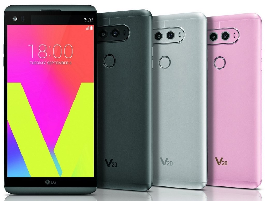 LG V20 is up for pre-order at Sprint and US Cellular too