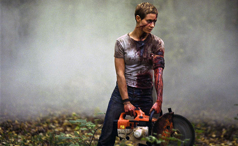 Cécile de France als Marie in HIGH TENSION (HAUTE TENSION, 2003). Quelle: EuropaCorp