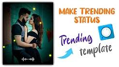 Avee player se trending status banaye | avee player video editing | new template link | visualizer