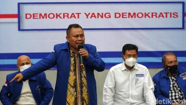 Kubu Moeldoko Tuding AHY Ubah Mukadimah AD/ART PD, Ancam Lapor Polisi