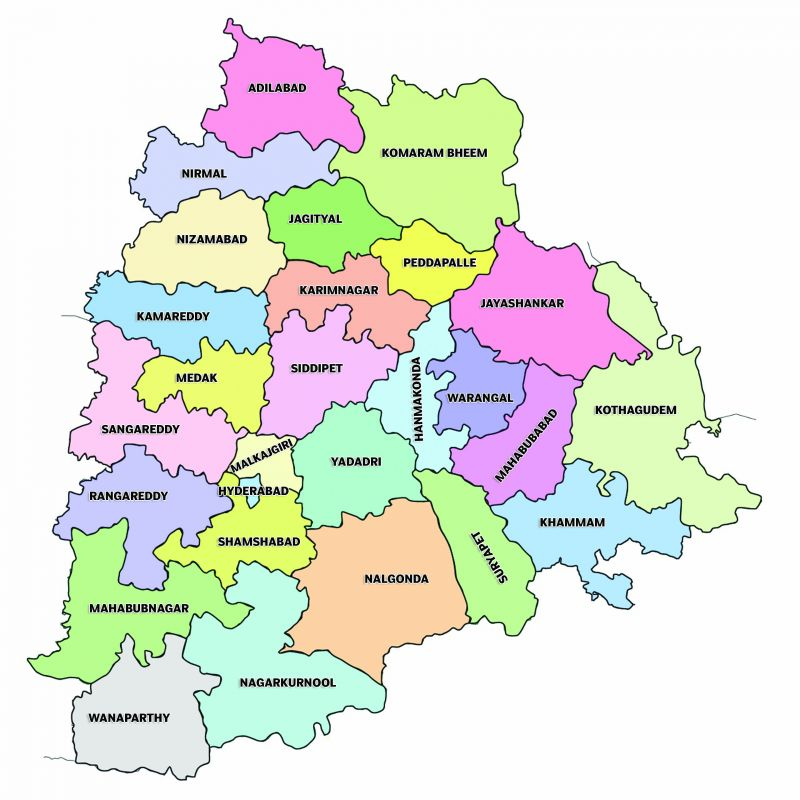 Asifabad District Revenue Mandals in Telangana state