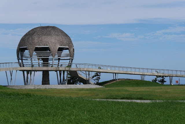 Seashore Park Taitung (Paposogan) Pagode aus Holz