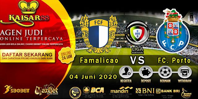 Prediksi Bola Terpercaya Liga Portugal Famalicao vs Porto 04 Juni 2020
