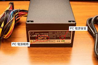 PC 電源の規格と容量を確認しよう