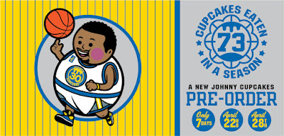 "Golden State Warriors ""Big Kid MVP"" Steph Curry T-Shirt by Johnny Cupcakes"