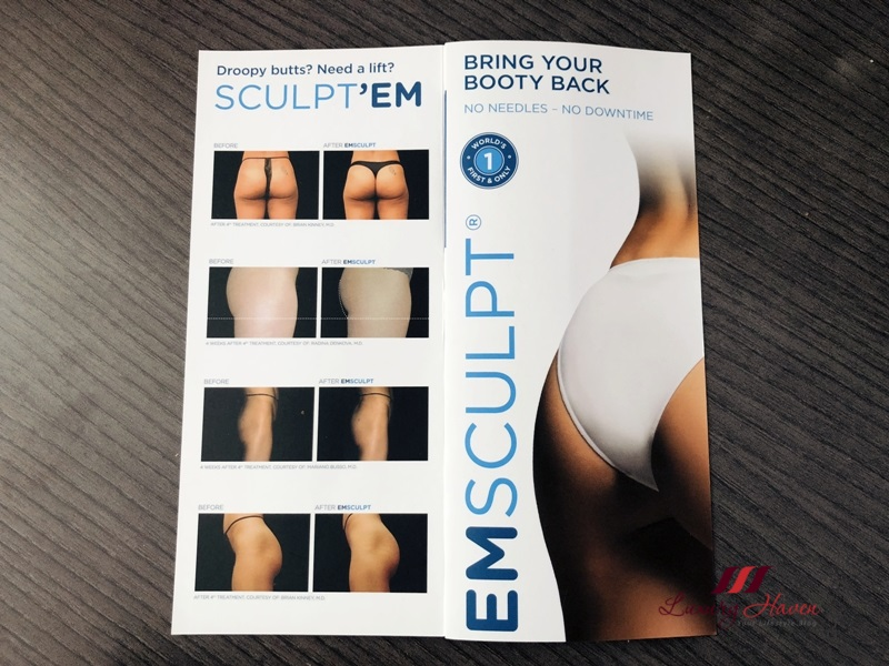 emsculpt buttock firming before after results