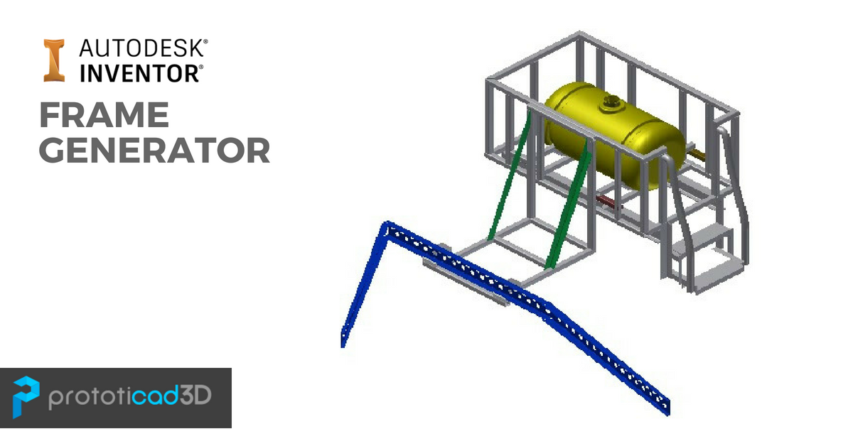 Como crear perfiles (Frame Generator) en Autodesk Inventor