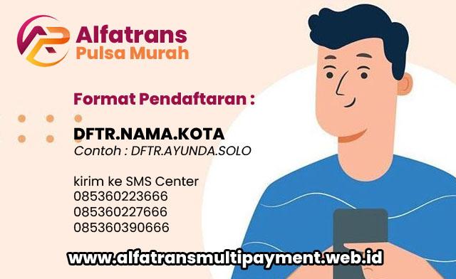 Cara Daftar Master Dealer Alfatrans Pulsa Murah