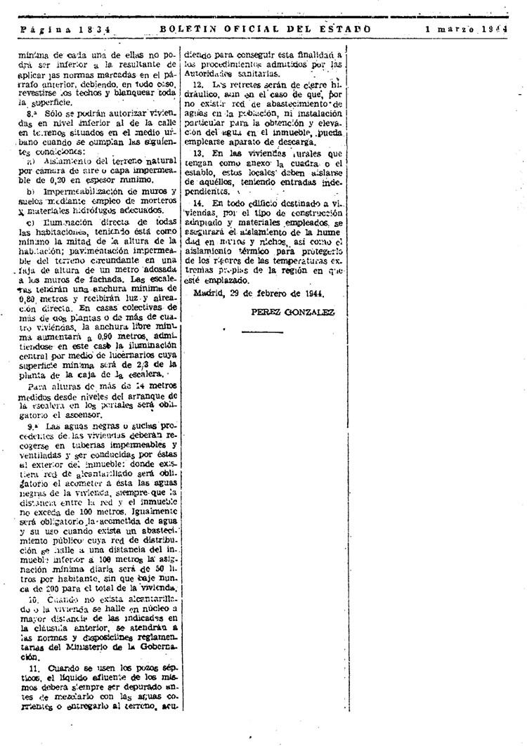 condiciones mínimas de viviendas 1944 – pagina 2