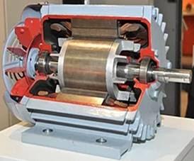 تعريف المحرك الكهربائي