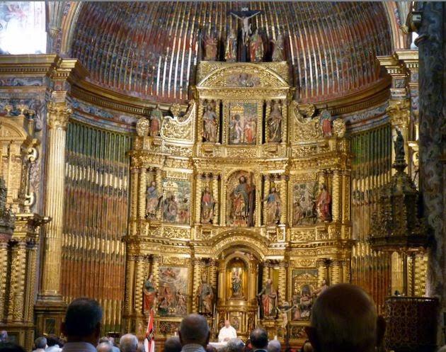Interior de la Iglesia Parroquial de San Andrés.