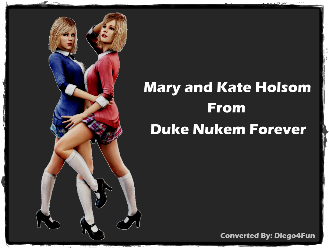 Consider, that Duke nukem forever twins nude gif your