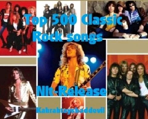 Download [Mp3]-[Rock Music] รวมเพลงสากลร๊อกสุดคลาสสิคกับ 500 เพลง บน Top 500 CLASSIC ROCK SONGS 4shared By Pleng-mun.com
