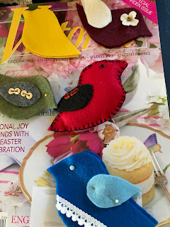Felt Birds, Living From Glory To Glory Blog...
