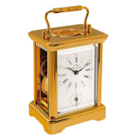 L'Epee Corniche Gold-Plated Carriage Clock – Alarm