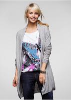 Jachetă tricotată ultra lejeră şi trendy, marca Rainbow (bonprix)