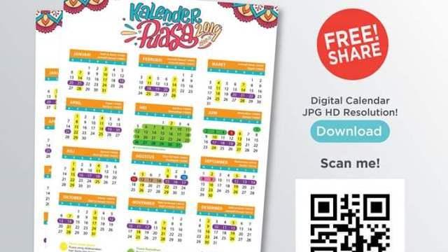 Download Kalender Jadwal Puasa 2019 Gratis