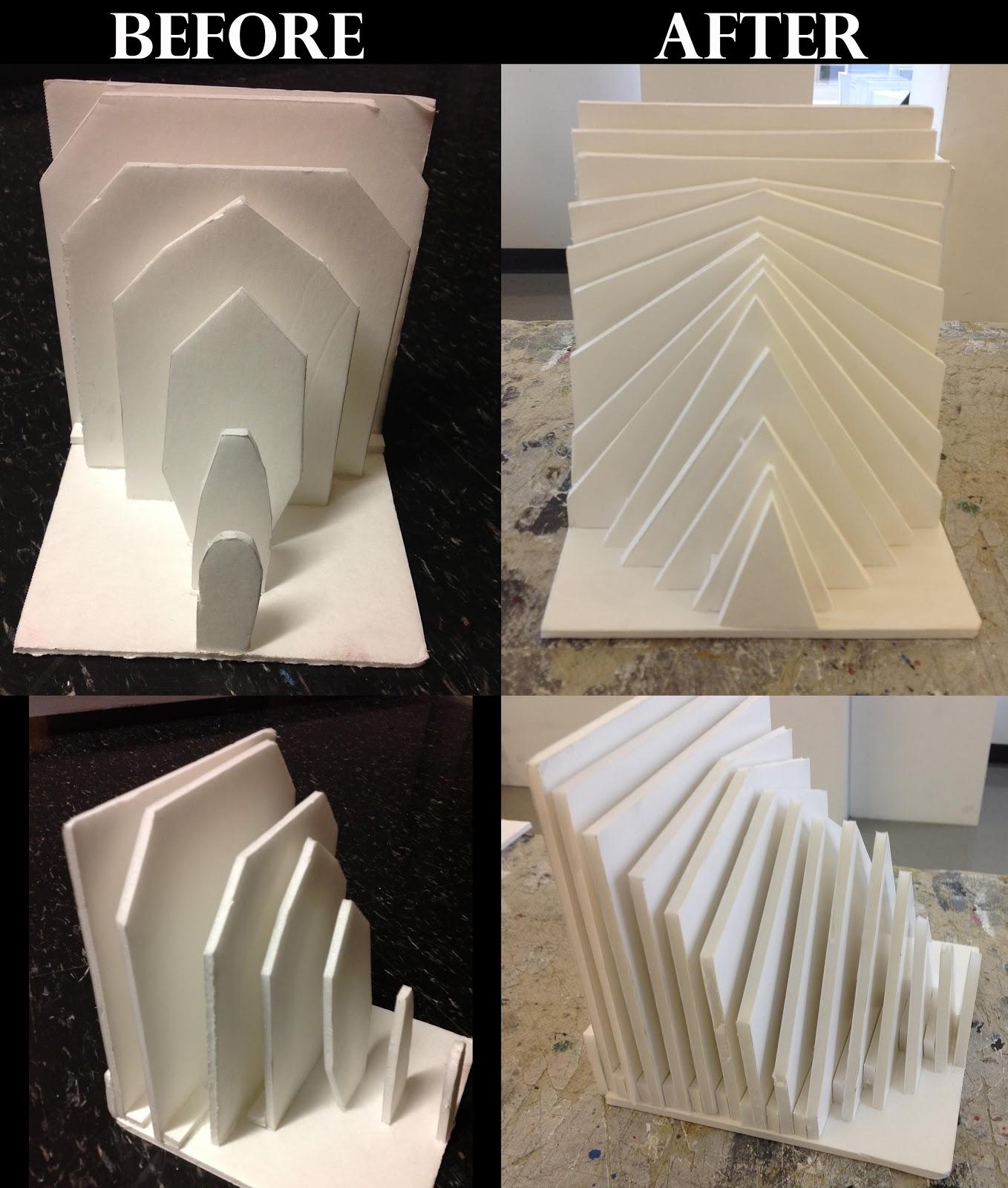 Ivana In 3D: Photos: Foam Core Explorations