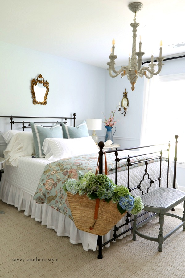 Savvy Southern Style : French Country Guest Bedroom Makeover ...