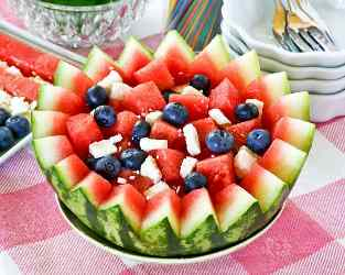 how to make the best Watermelon Salad Recipe