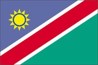 Bandeira da Namíbia
