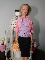 Roupa de Crochê Para Barbie Por Pecunia MillioM