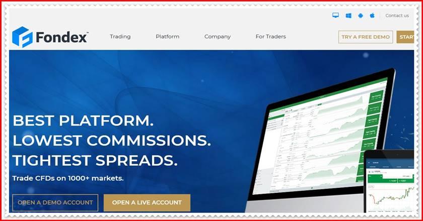 Мошеннический сайт fondex.com, fondex.pro – Отзывы, развод! Компания Fondex мошенники