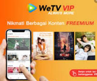 Cara Mendapatkan VIP WeTV Gratis Simak Disini