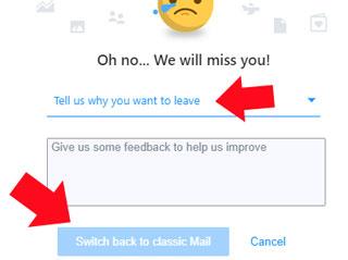 Como volver a la antigua version clasica de Yahoo Mail