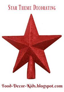 Star theme decor food-decor-kids.blogspot.com