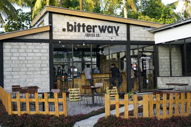 Kedai kopi Bitterway Coffee and Co di Condongcatur